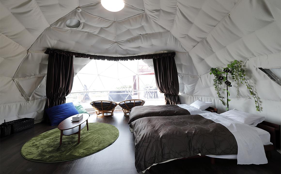 大型ドームテント